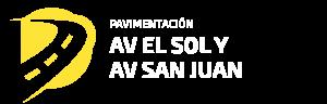 Mejoramiento y ampliación del eje vial av. El Sol y av. San Juan