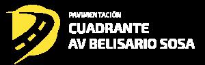 Mejoramiento de la transitabilidad vehicular y peatonal en el cuadrante limitado entre la av. Belisario Sosa Pelaez